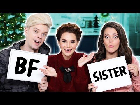 Who Knows Me Better?! (Boyfriend vs Sister!)