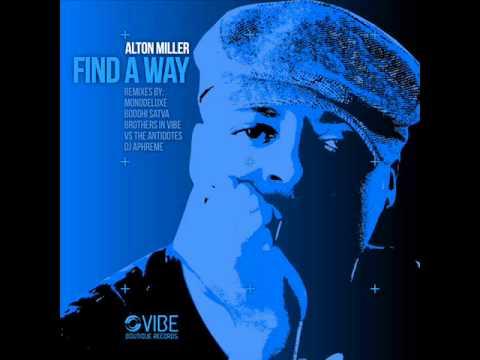 Alton Miller - Find A Way (Main Mix)