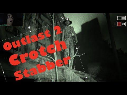 Outlast 2:  Killer crotch shot.