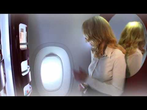 Air france a380 cabin interior youtube for A380 air france interieur