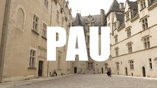 Pau, Bearn, Pyrénées-Atlantiques - 4K UHD - Virtual Trip