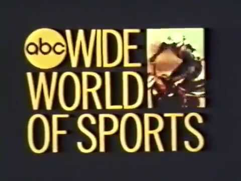 ABC Wide World of Sports 1974 TV