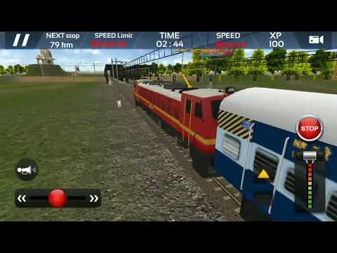 Kolkata Delhi express || Indian Train Simulator 2018 - Free#2