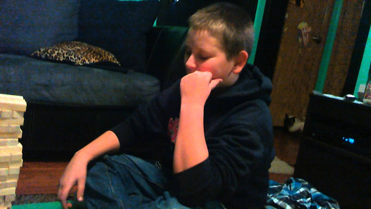 Kid Flips Out Over Video Game