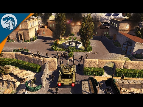TANK ASSAULTS AMERICAN EMBASSY | SirHinkel's Mod | Call to Arms Multiplayer Gameplay
