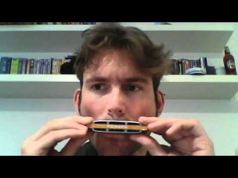 Beginners Note Bending on a Harmonica