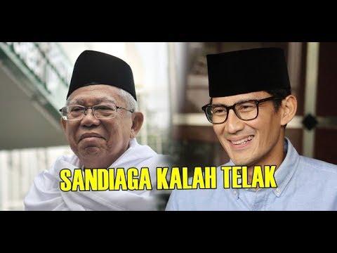 Sandiaga Tak Berkutik Debat Lawan KH Ma'ruf Amin