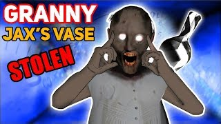 Granny Steals JAX'S POWER-FILLED VASE!!! (Power Gone?) | Granny The Mobile Horror Game (Story)