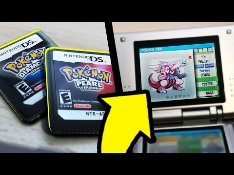 Playing My 12 Year Old Pokemon Games! (With Shiny Legends!)