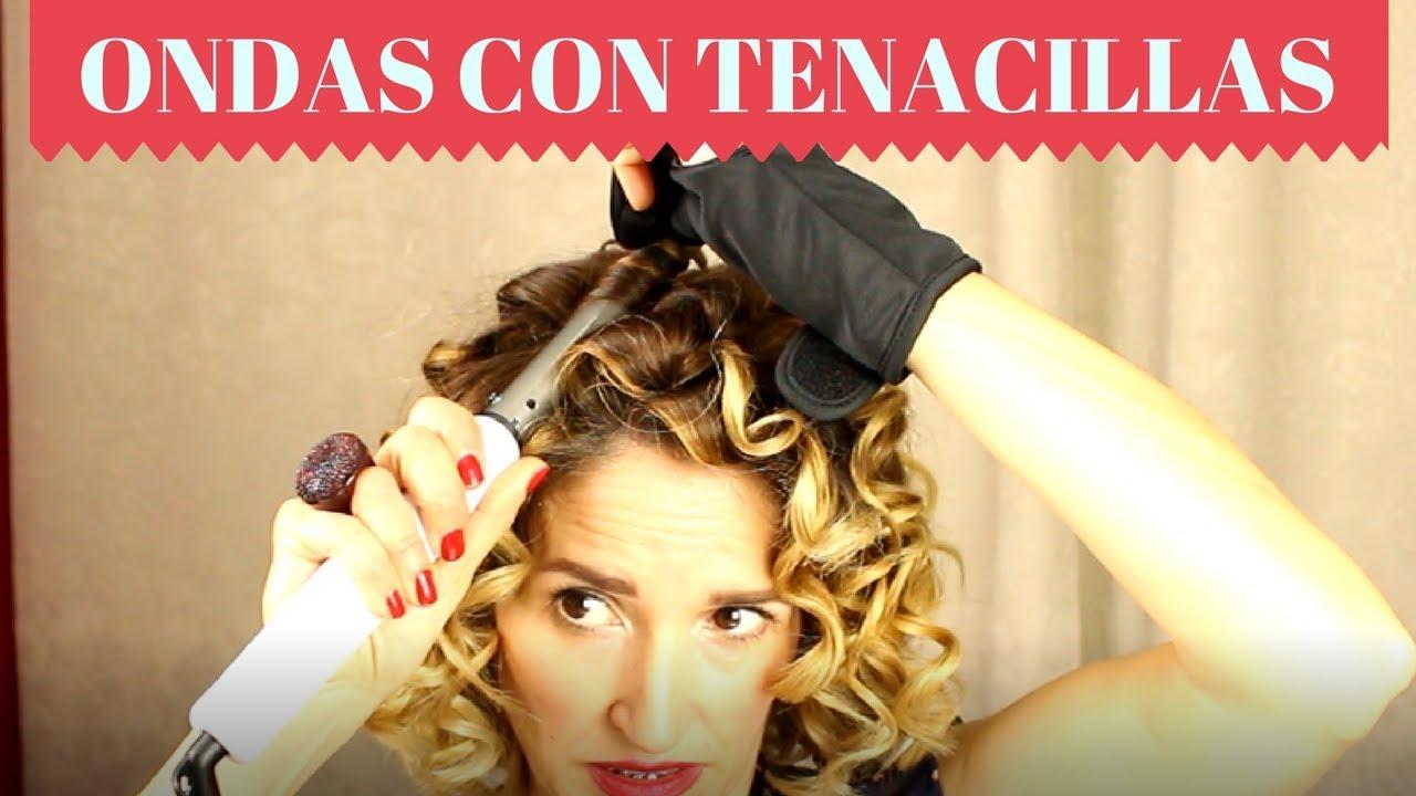 Como usar tenacillas para el pelo corto
