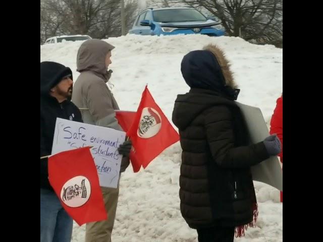 Hazleton Rally against student abuse
