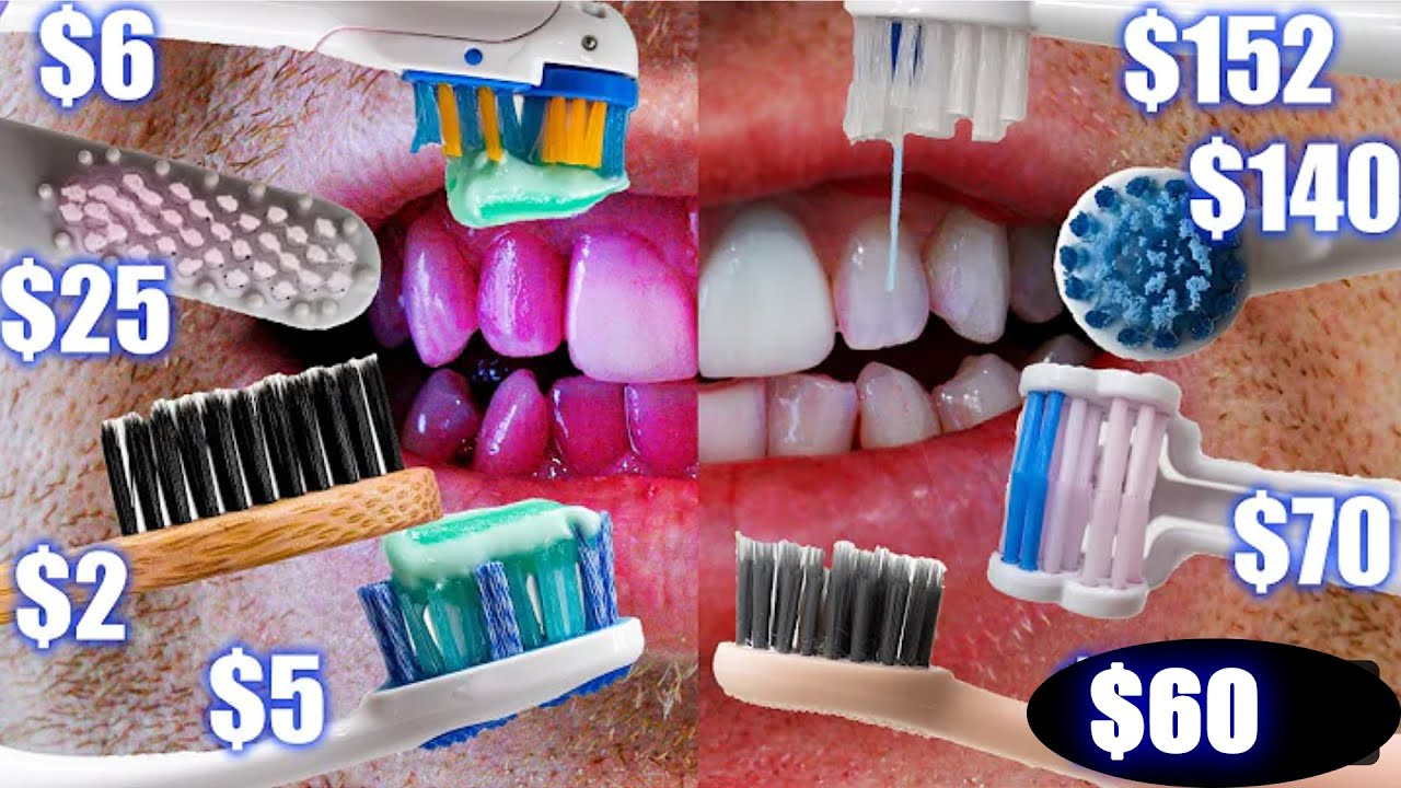 Cheap Vs Expensive Toothbrush Comparison Electric Manual