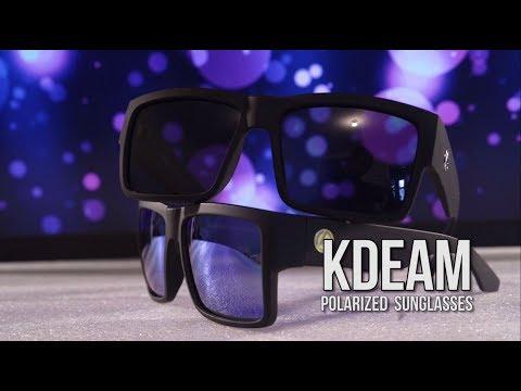 KDEAM Polarized Sunglasses (Cheap AliExpress Sunglasses) Unboxing