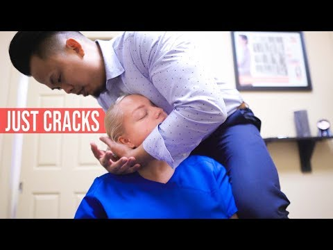 JUST LOUD CRACKS   ASMR Chiropractic Adjustment Compilations   Neck Crack & Back Cracking   Dr Tubio from YouTube · Duration:  13 minutes 50 seconds