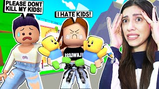 I Let MY SISTER BABYSIT MY KID'S and SHE ALMOST KILLED THEM! ( Roblox Adopt Me )