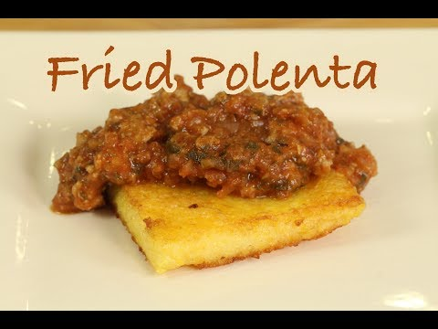 How to make vegan polenta squares