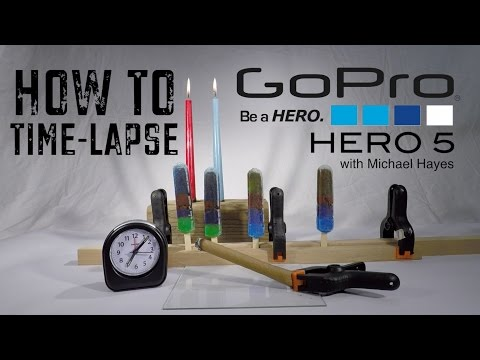 GoPro Hero 5 How To Time Lapse