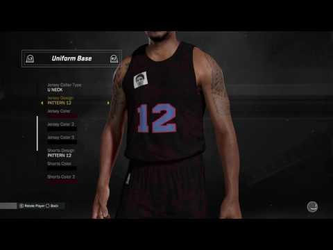 NBA 2K17: MyLeague Season 2 - Jorge Designs New Jerseys