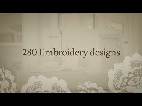 Brother SE625 Features: Embroidery Designs
