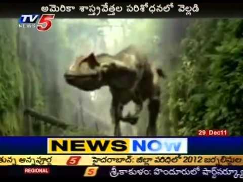 Telugu News Dinosaur In Andhra Pradesh Tv5 Youtube