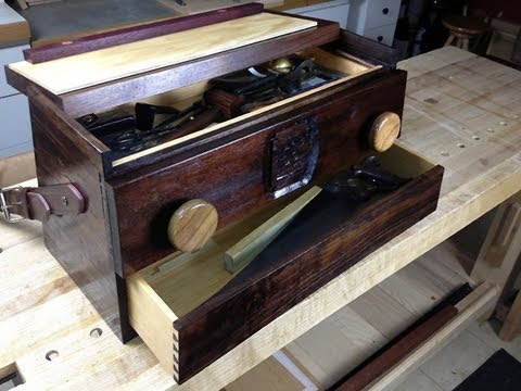 Hand Tool School #10: My Ultra-Functional Toolbox/Mobile Workbench