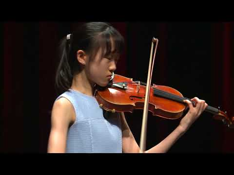 CAECILIA LEE / Menuhin Competition 2018, Junior first rounds - day 2