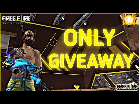 Live Giveaway Free Fire ff Live Giveaway Custom Room Diamond And Dj Alok