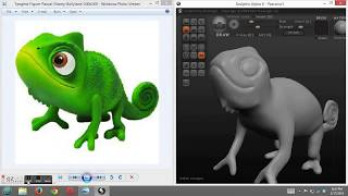Sculptris Tutorial - how to Sculpt Tangled