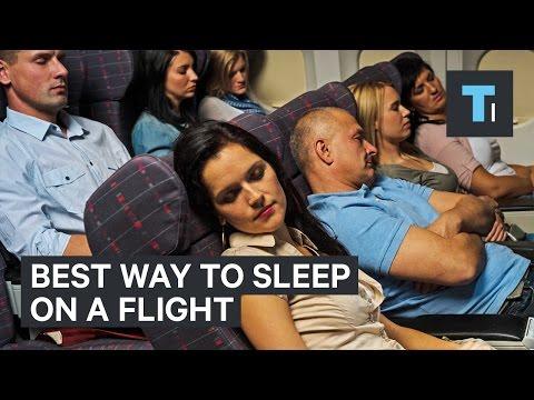 Best way to sleep on a flight