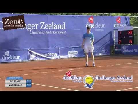 Daniel de Jonge (NED) - Robert Willekes MacDonald (NED) 6-3 6-1