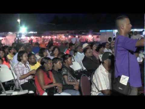 ALBION SPORTS COMPLEX-BERBICE EXPO 2012- GUYANA-Guyana Steel Orchestra.