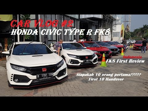 Cobain Honda Civic Type R FK8 - Test Drive & Review - Car Vlog 2 First Delivery Indonesia