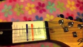 HOW TOO FRETLESS GUITAR NECK CONVERSION PT 6