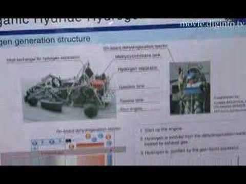 有機ハイドライド水素自動車 : DigInfo