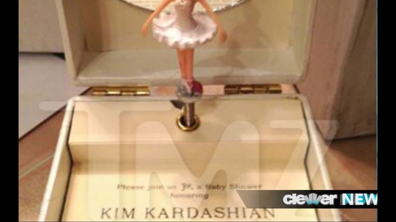 Kim Kardashian Invitation to Baby Shower DETAILS AND PHOTOS