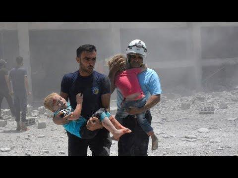 White Helmets rescue in Syria | Sunday Scrum