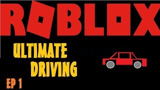 ULTIMATE SCION FRS (ROBLOX ULTIMATE DRIVING Episode 1)