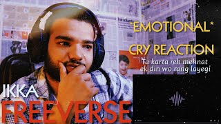 IKKA FREEVERSE REACTION *EMOTIONAL* | TU KARTA REH MEHNAT IKKA INSTAGRAM IGTV SONG | HIP HOP | TCRH