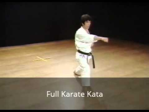 Some Kata in Karate