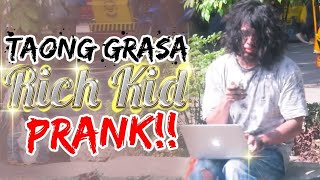 """Taung Grasa(Homeless) / Rich Kid"" PRANK"