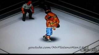 John Cena vs Randy Orton - Breaking Point 2009 - WWE World Title