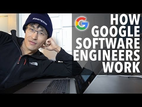 How Google Software Engineers Work (coding & programming workflow)