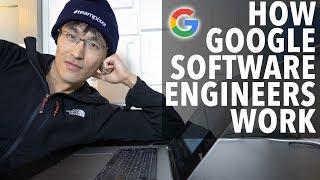 How Google Software Engineers Work (coding & programming workflow)