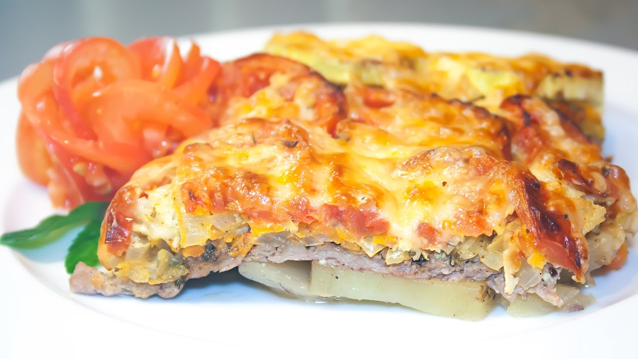 Мясо с Картофелем и Овощами, Запечённое в Духовке Тушеная Картошка с Мясом и Овощами в Духовке