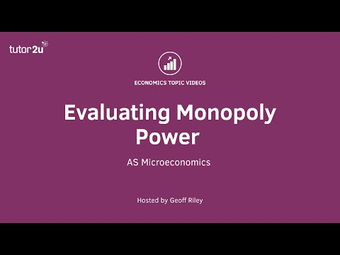Evaluating Monopoly (AS Micro)