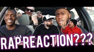 RAP REACTION | LAZZA - MOB feat. SALMO & NITRO (Prod. 333 Mob) | ARCADEBOYZ