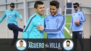 Blind Penalty Shoot-out | AGUERO v VILLA | Challenge 1 thumbnail