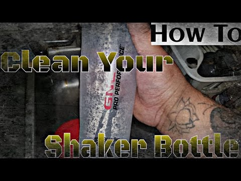 How To: Clean Your Shaker Bottle
