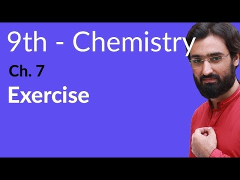 Matric Part 1 Chemistry Chemistry Chapter No 7 Exercise MCQ S Ch 7 9th Class Chemistry
