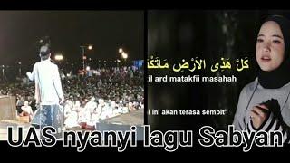 UAS nyanyi lagu Sabyan